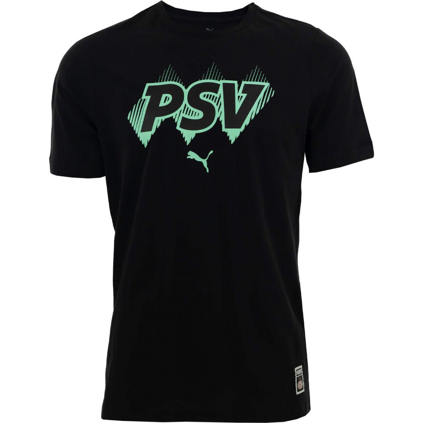 PSV ftblcore T-shirt Zwart 21/22