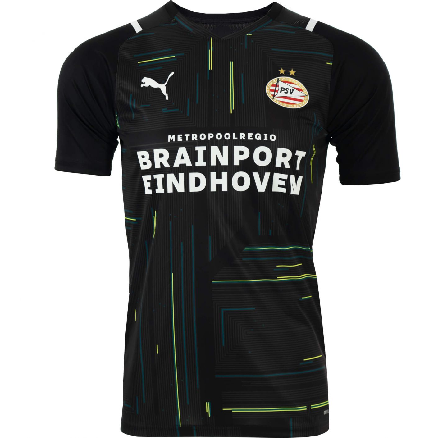 PSV Keepersshirt Zwart 21/22