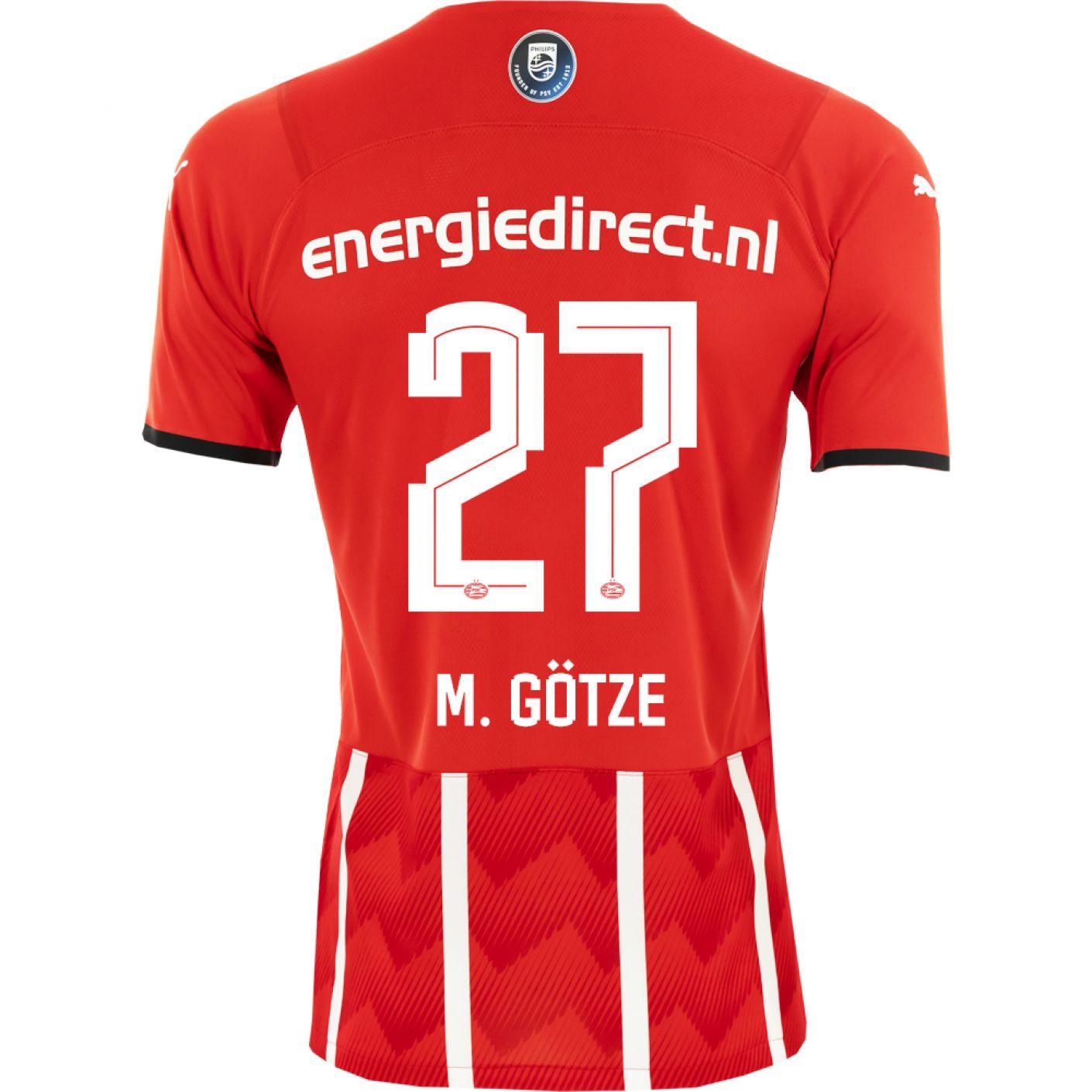 PSV M. Götze 27 Thuisshirt Authentic 21/22