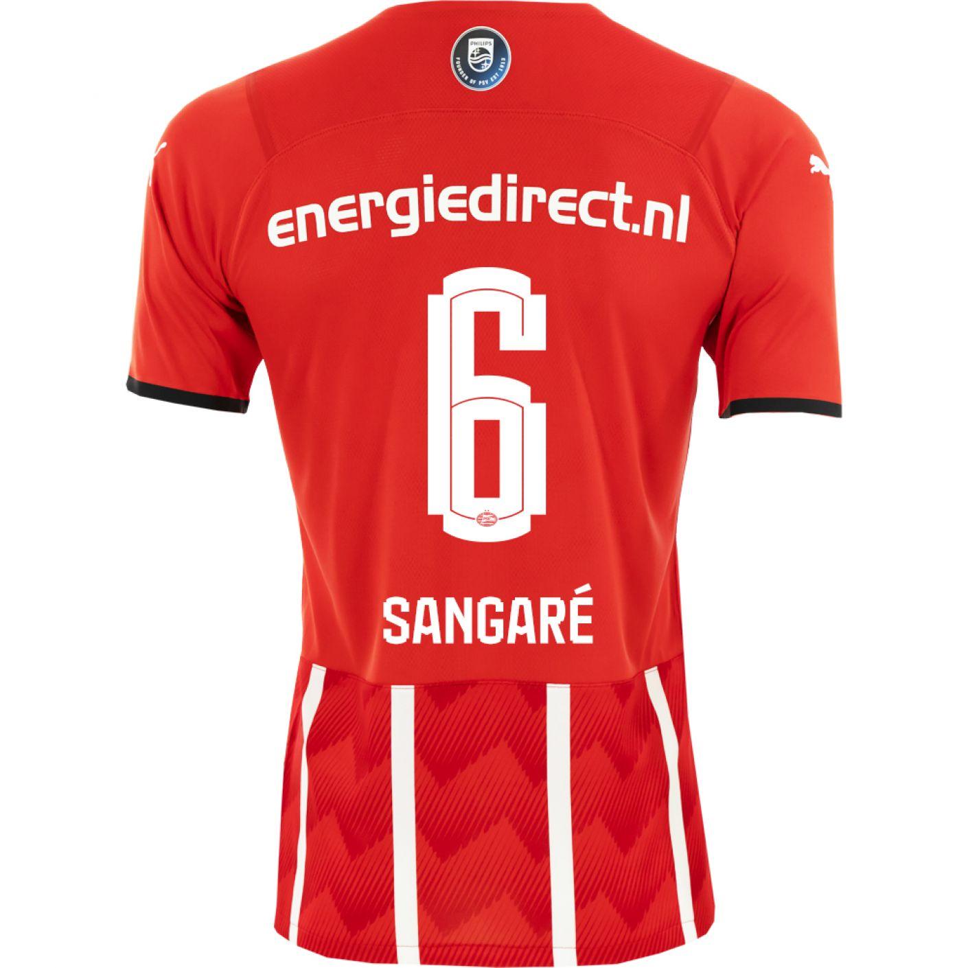 PSV Sangaré 6 Thuisshirt 21/22 Kids