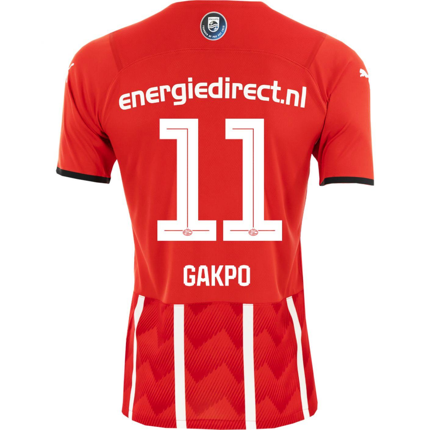 PSV Gakpo 11 Thuisshirt 21/22