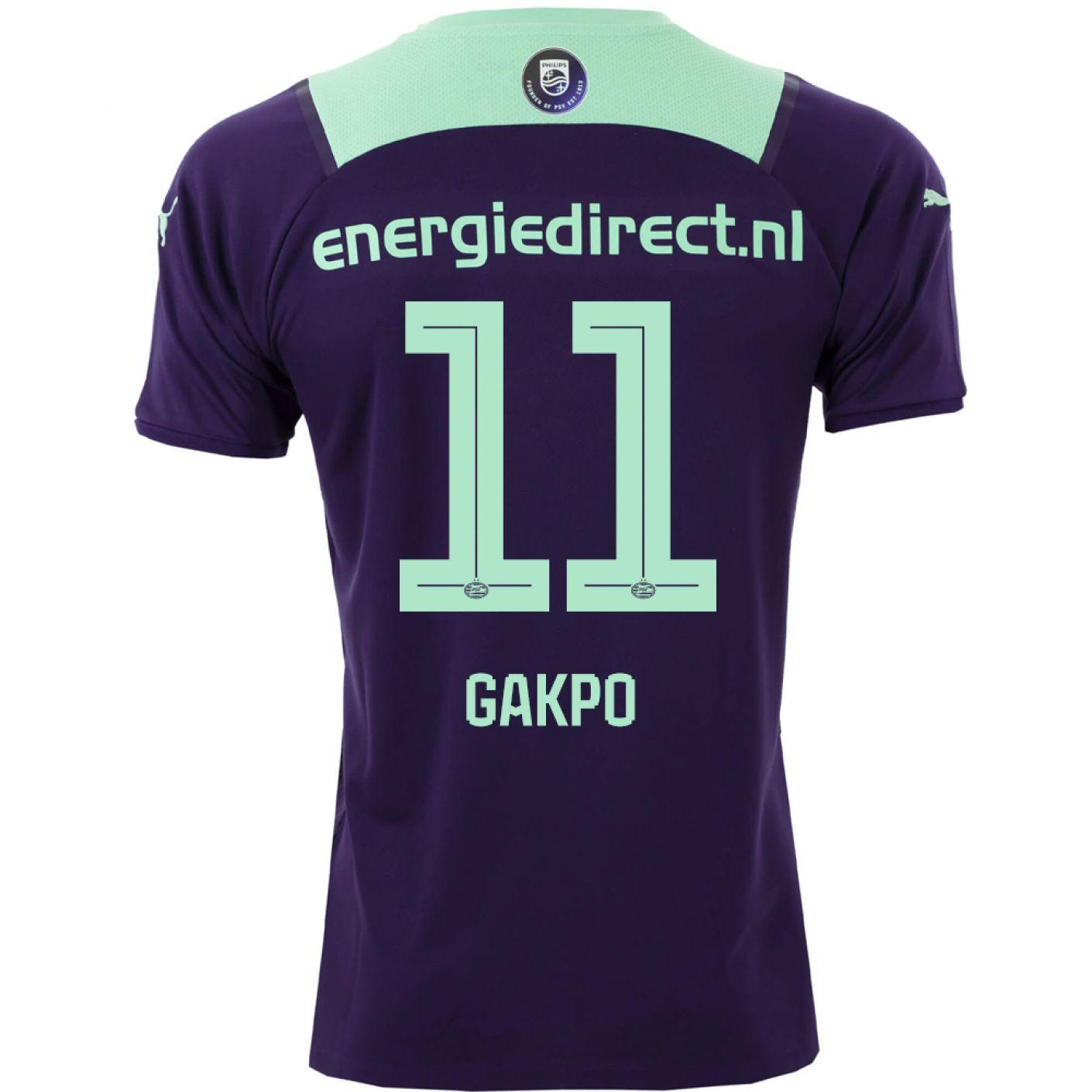 PSV Gakpo 11 Uitshirt 21/22