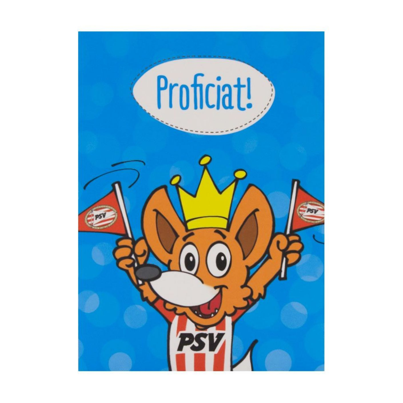 PSV Wenskaart Proficiat Phoxy