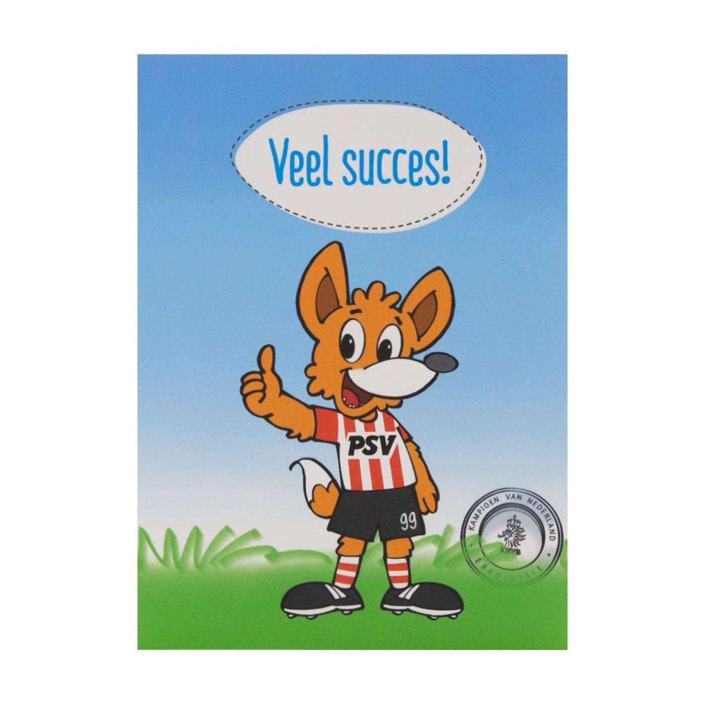 PSV Wenskaart Veel Succes Phoxy