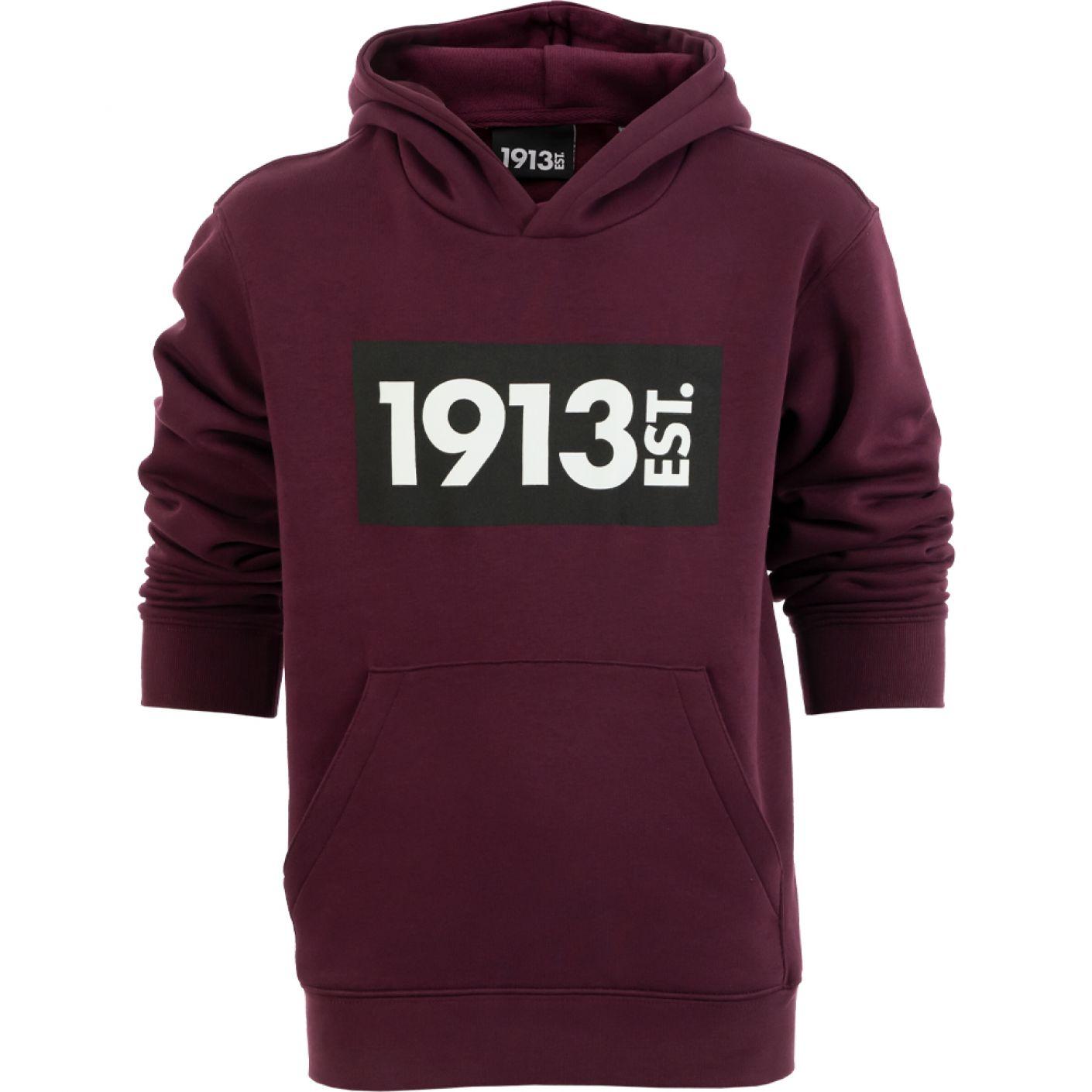 1913 Hooded Sweater Kids bordeaux