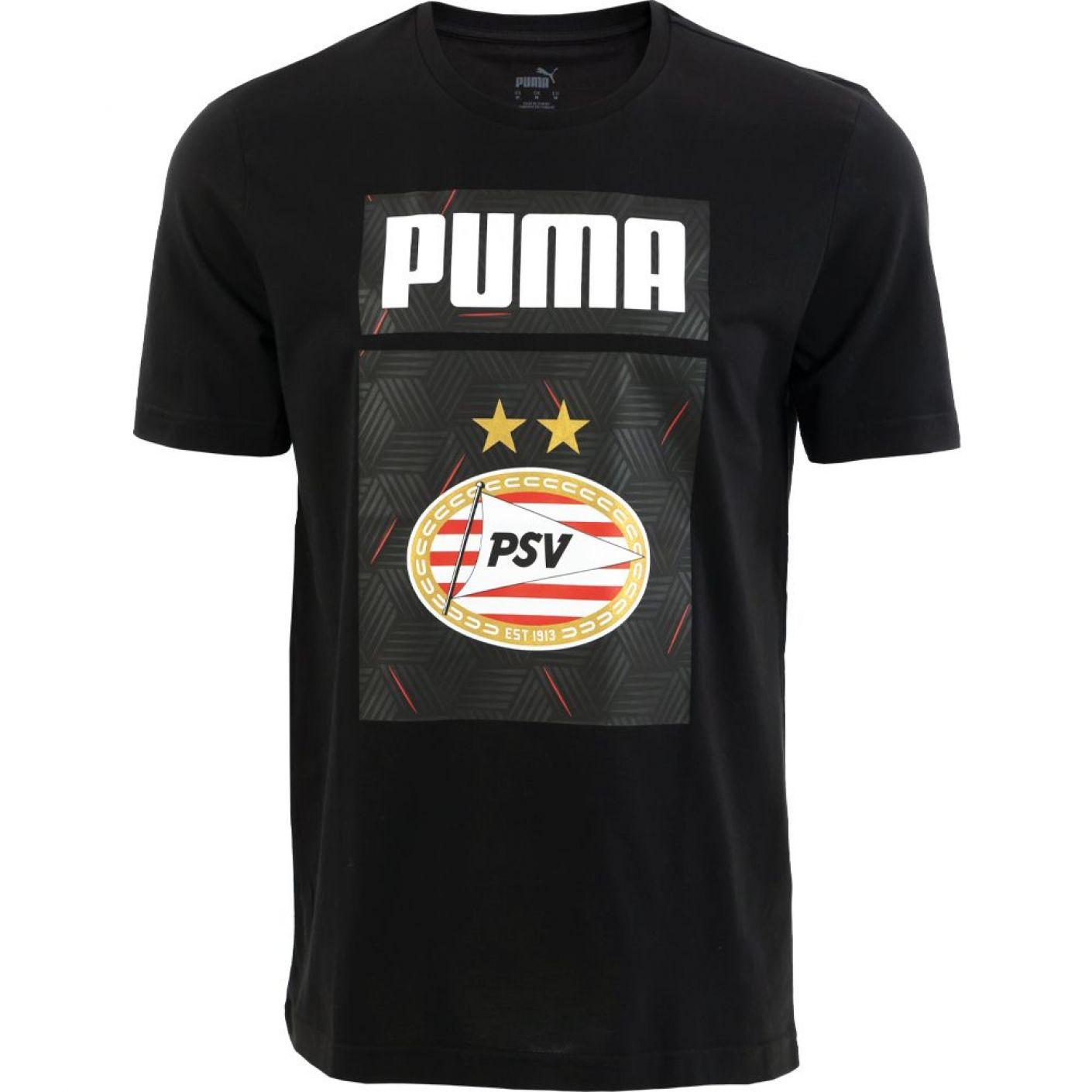 PSV Shoe Tag T-shirt 20/21 Zwart