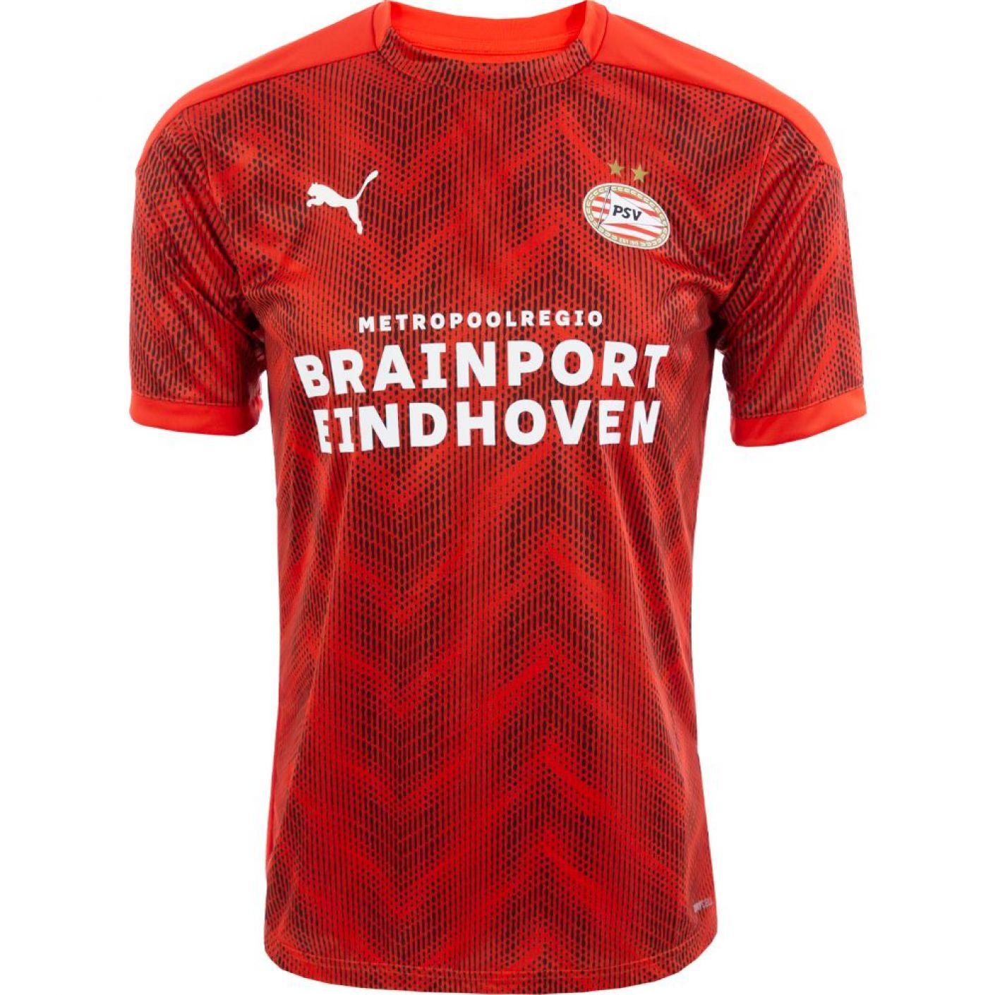 PSV Warm-up Shirt JR 20/21 Rood