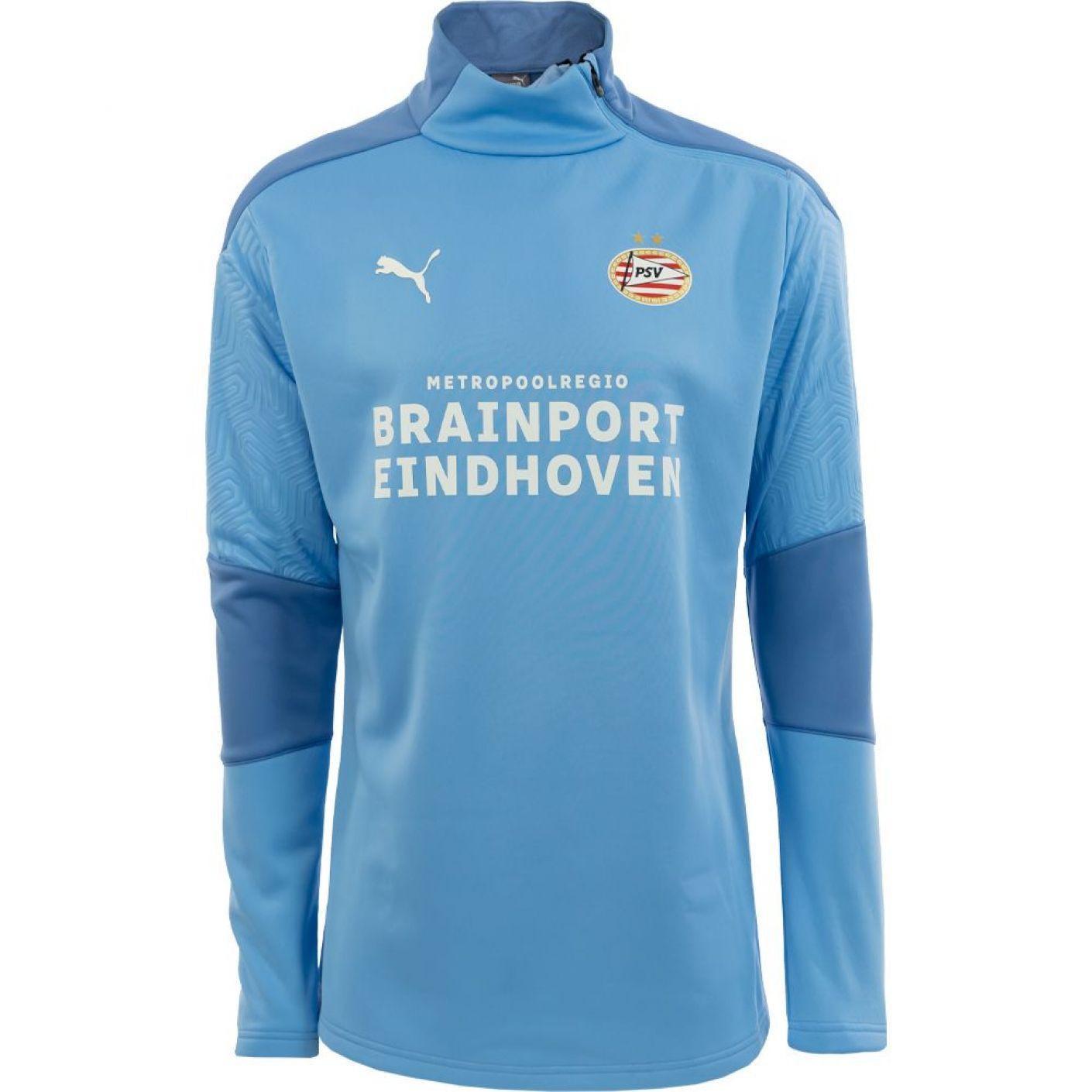 PSV Trainingssweater Fleece 20/21 LBlauw