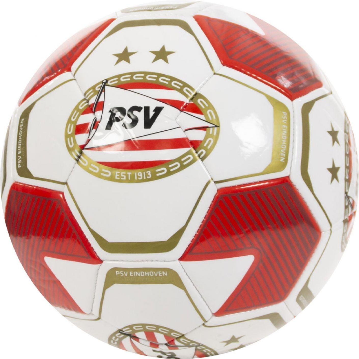 PSV bal logo's groot