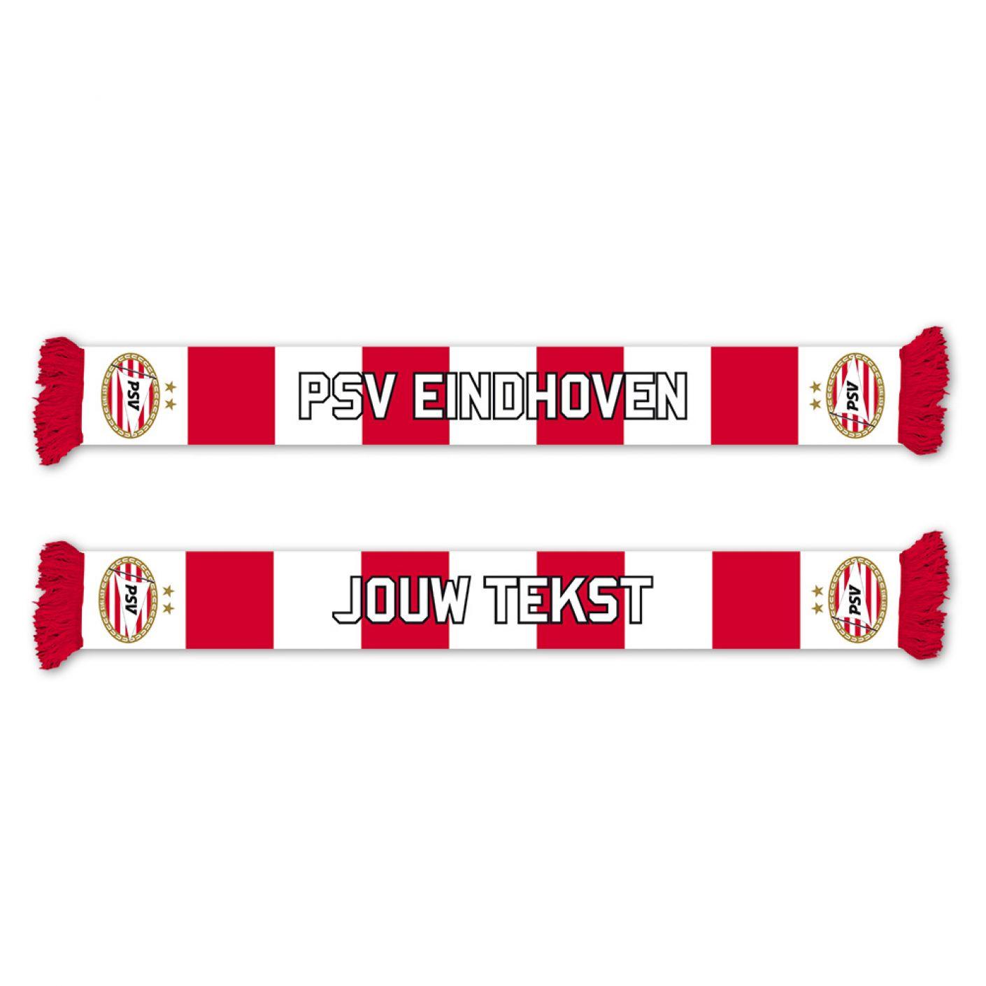 PSV Fleece Sjaal (Nr.1 Fan) Gepersonaliseerd