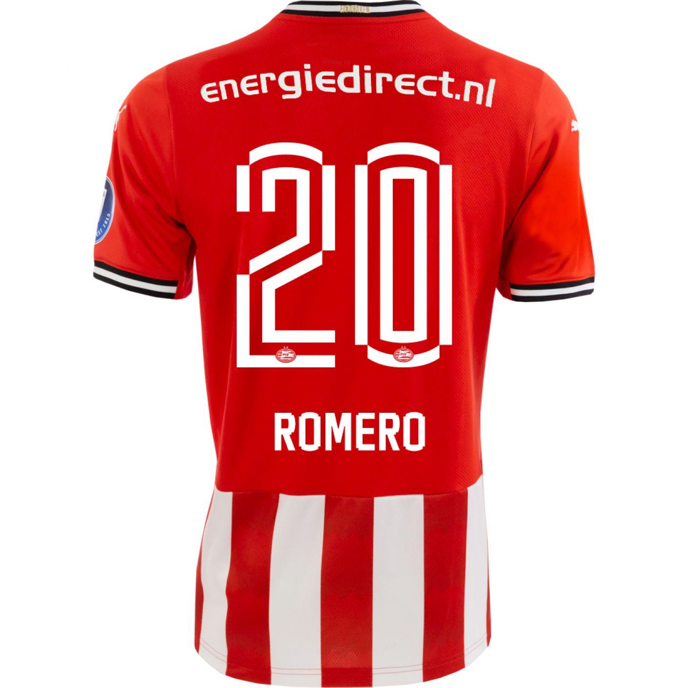 PSV Maxi Romero Thuisshirt 20/21