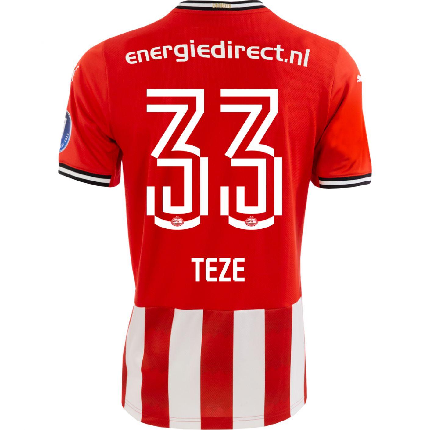 PSV Teze Thuisshirt 20/21