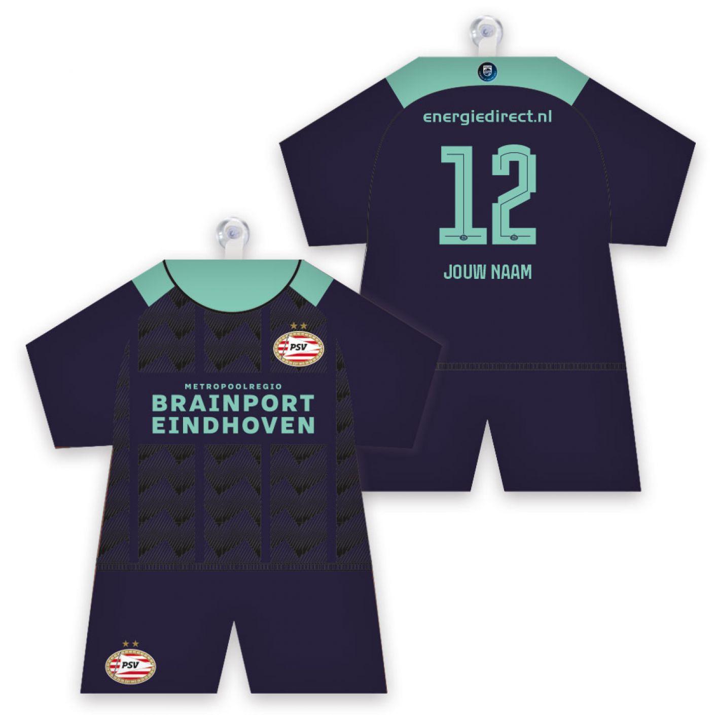 PSV Maxidress Uitshirt 21-22 Gepersonaliseerd