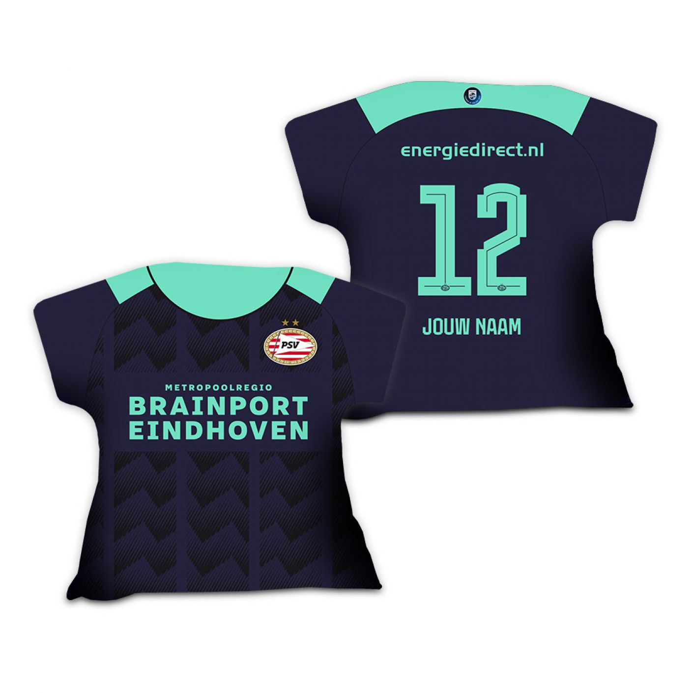 PSV Shirtkussen Uitshirt 21-22 Gepersonaliseerd