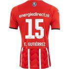 PSV E. Gutiérrez 15 Thuisshirt 21/22 Kids