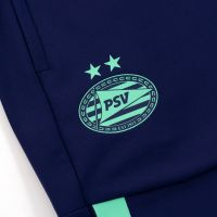 PSV Trainingspak 1/4 Rits JR Green Glimmer 21/22