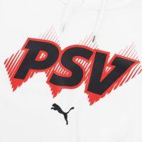 PSV ftblcore Hoody Wit 21/22