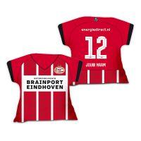 PSV Shirtkussen Thuisshirt 21-22 Gepersonaliseerd
