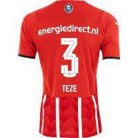 PSV Teze 3 Thuisshirt 21/22 Kids