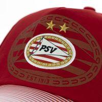PSV Cap Logo Lines rood SR