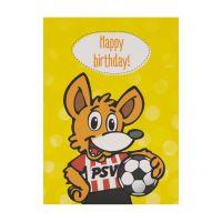 PSV Wenskaart Happy Birthday Phoxy
