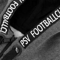 PSV Hooded Vest Eindhoven Kids grijs-zwart