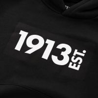 1913 Hooded Sweater Kids zwart