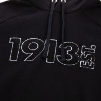 1913 Hooded Sweater Terry zwart