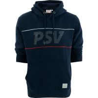 PSV Hooded Sweater Letters d.blauw