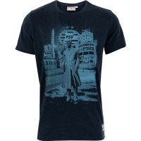 PSV T-shirt Meneer Frits d.blauw