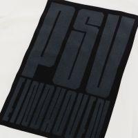 PSV T-shirt Block wit-zwart