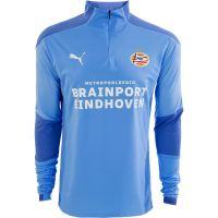 PSV Trainingssweater 1/4 rits 20/21 LBlauw
