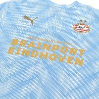 PSV Warm-up shirt JR 20/21 Wit LBlauw