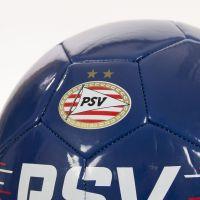 PSV bal rood-wit strepen d.blauw