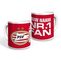 PSV Mok (Nr.1 Fan) Gepersonaliseerd