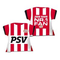 PSV Shirtkussen (Nr.1 Fan) Gepersonaliseerd