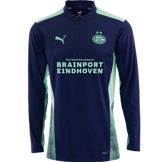 PSV Trainingssweater 1/4 Rits Astral Aura 21/22