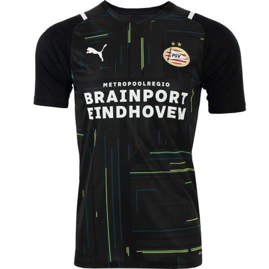 PSV Keepersshirt JR Zwart 21/22