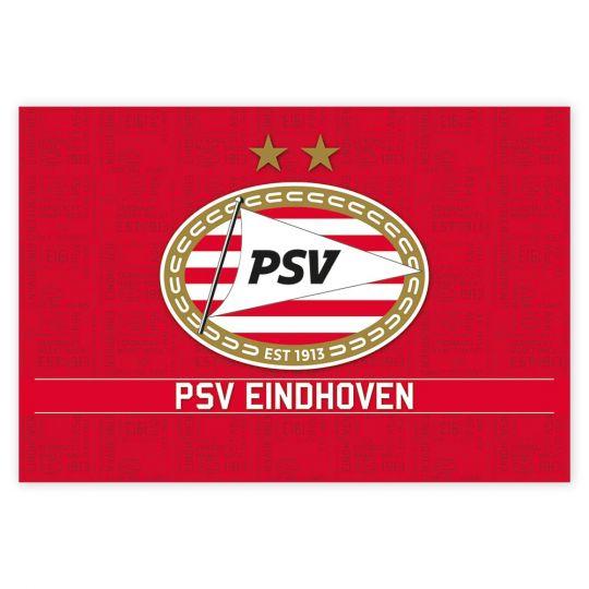 PSV Poster Logo rood