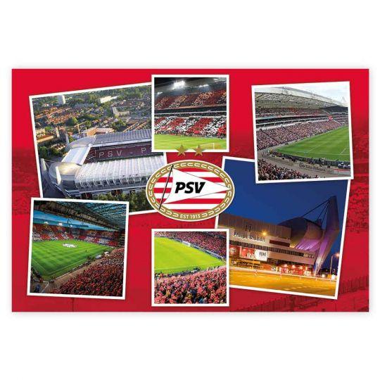 PSV Poster Stadion Collage