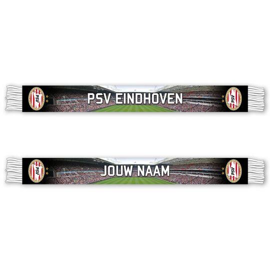 PSV Sjaal Stadion Gepersonaliseerd (Fleece)