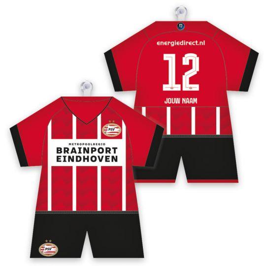 PSV Maxidress Thuisshirt 21-22 Gepersonaliseerd