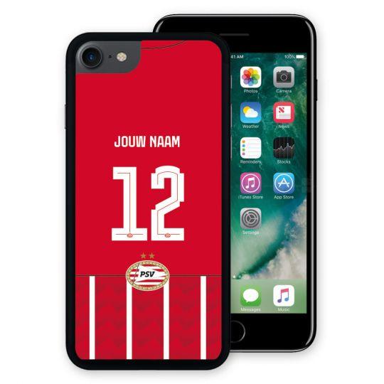 PSV Iphone 7/8 Cover Thuis 21-22 Gepersonaliseerd