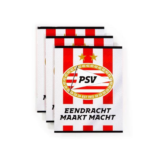 PSV Schrift A5/lijn (3-pack) 21-22