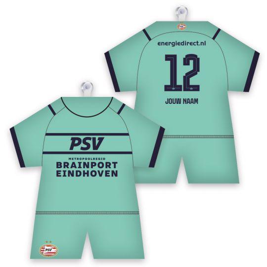 PSV Maxidress Derde Shirt 21-22 Gepersonaliseerd