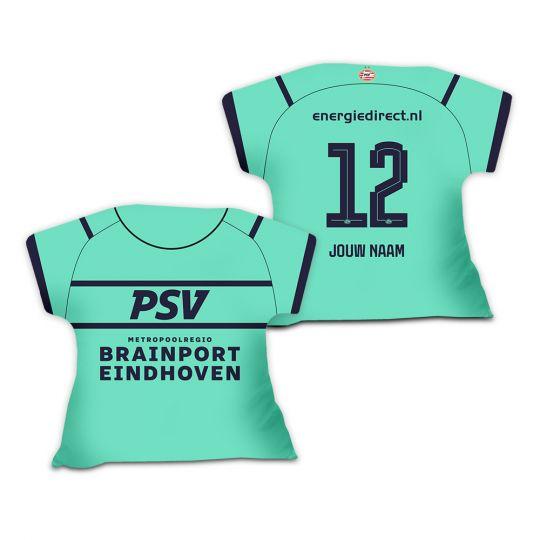 PSV Shirtkussen Derde Shirt 21-22 Gepersonaliseerd