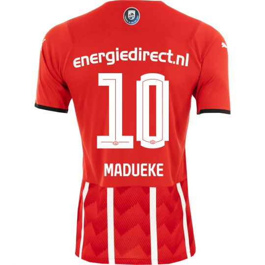 PSV Madueke 10 Thuisshirt Authentic 21/22