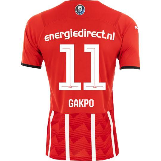 PSV Gakpo 11 Thuisshirt 21/22 Kids