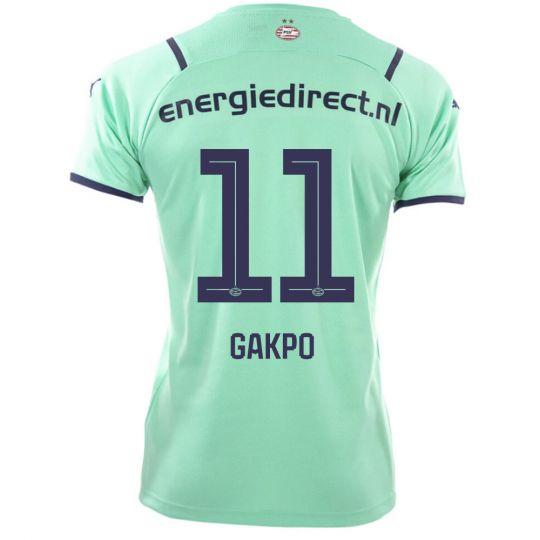PSV Gakpo 11 Derde Shirt 21/22 Kids
