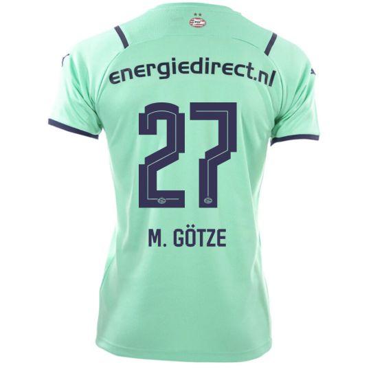 PSV M. Götze 27 Derde Shirt 21/22 Kids